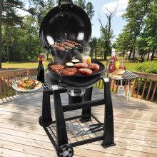 22inch Lokki Luxury Backyard Charcoal BBQ Grill