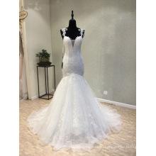 На Заказ Бисером Кружево Русалка Свадебное Платье