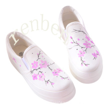 Hot New Sale Women′s Footwear Casual Canvas Shoes