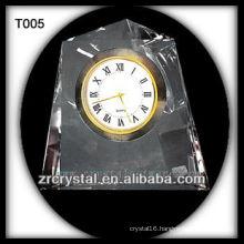 Wonderful K9 Crystal Clock T005