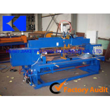 Automatic electro forged grating machine for metal grate