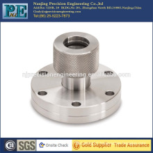 OEM machining ss304 flange coupling for mechanical assemble products