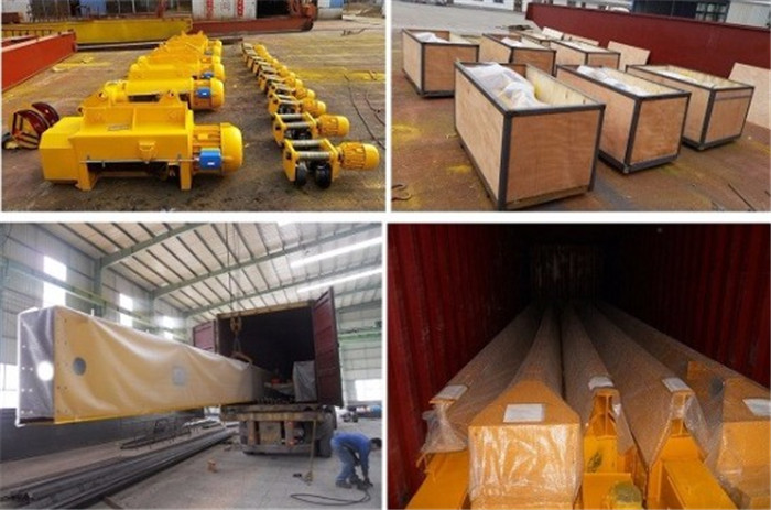 A Model Double Girder Gantry Crane Packing And Delivery