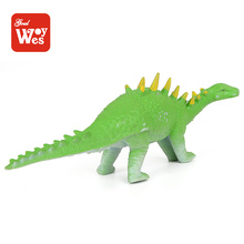 shantou wholesale soft rubber toy dinosaur animal model for children