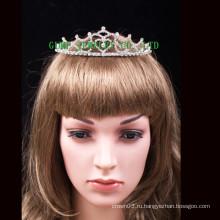Свадебная тиара принцесса корона горный хрусталь тиара