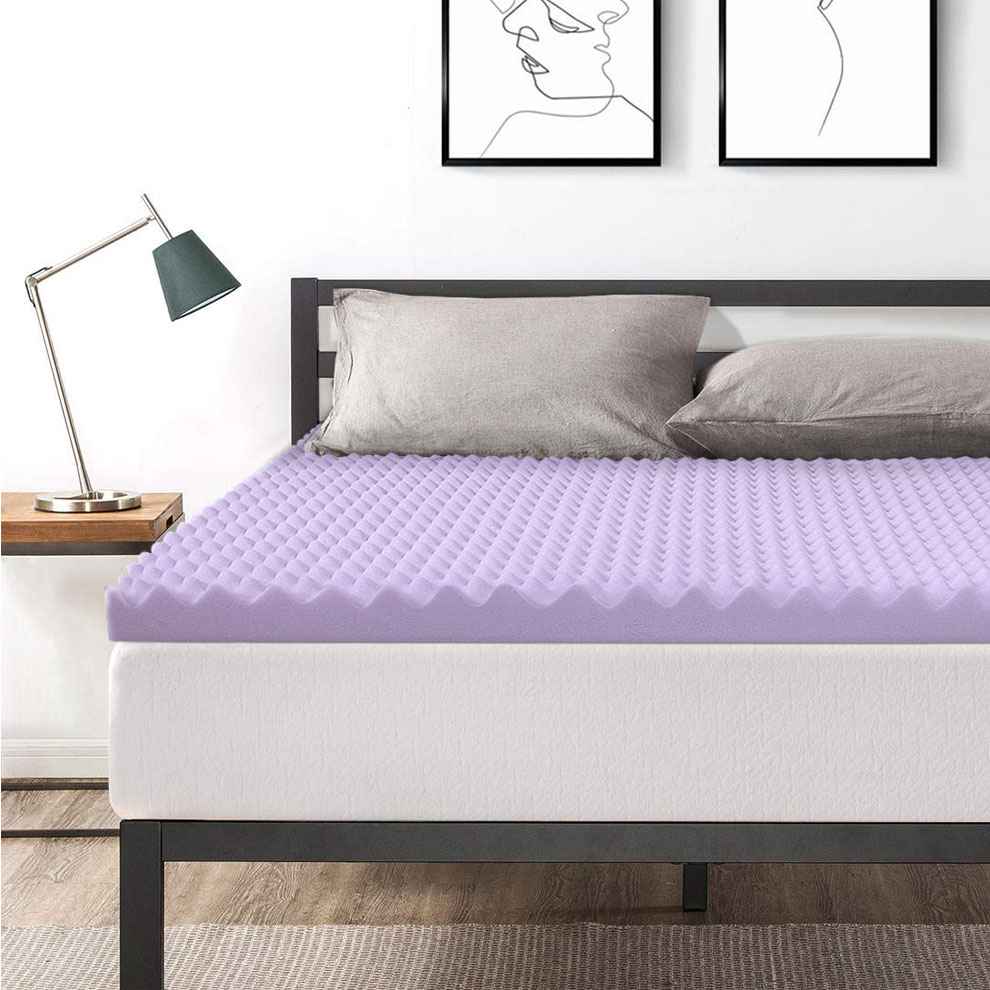 3 Memory Foam Mattress Topper King Size