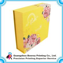 Cajas de torta con gradas de encargo de la cartulina decorativa barata de la boda