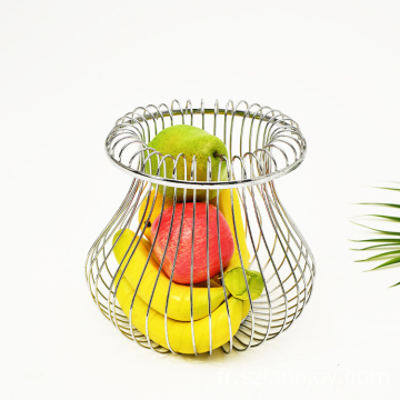 Household Vegetable Basket Storage  Sugar Basket Metal Wire Fruit Basket for Home Kitchen Restaurant