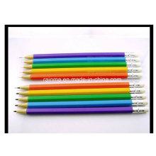Plastik Nicht schärfen Mechanischer Bleistift mit Eraser Top