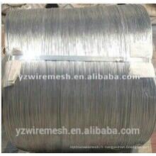 China Galfan WIre / fournisseur de fils en alliage de zinc et d'aluminium