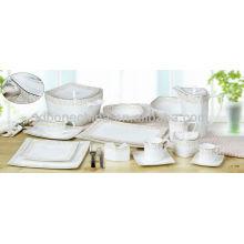TY Haipai Haiyi forma simple de diseño de porcelana placa de cena