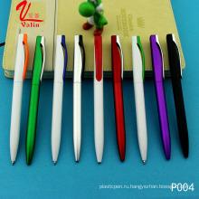 Дешевые цены клик Шариковая ручка пластиковая шариковая ручка на продажу