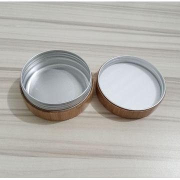 Frasco de Creme de Bambu com Lnner de Alumínio