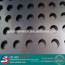 stainless steel perforated sheet/perforated sheet in steel wire mesh for hot sale!!!