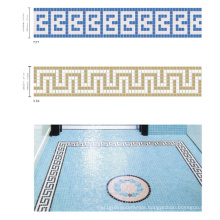 Border for Swimming Pool Blue