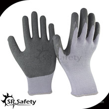Latex Coated Palm/Polycotton Gloves/Wrinkle-Finish/cheapest latex glove