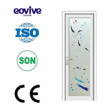 NEW Style high quality aluminium alloy swing door with frosted glass