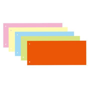 Diviseurs en carton mélangé à 5 couleurs de 150GSM avec 2 trous
