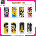 10217033 Nanoblock Creativity unique phone Cases for ISO phone both 5.5 inch and 4.7inch size