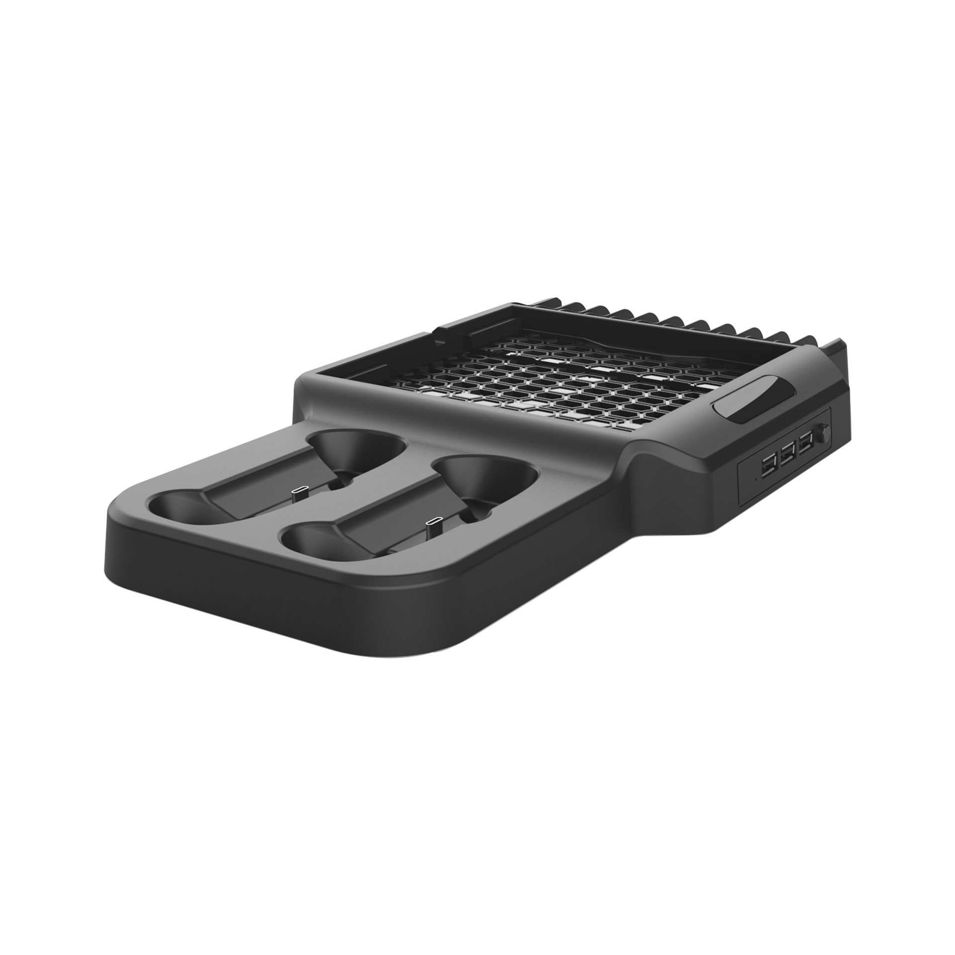Vertical Stand For XSX Game Console with USB HUB