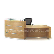 2015 New Arrival MFC Modern Reception Table Office Furniture (HF-R006)