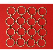 Золотая металлическая проволока Ring Mesh