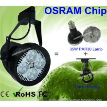 16PCS Osram LEDs 35W PAR30 LED Lamp LED Tracking Light