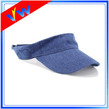 Plain Blank Denim Visor Cap