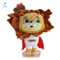 Cartoon Brown Animal Lion Spielzeug