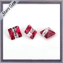 Piedras preciosas sintéticas especiales de la venta caliente del multicolor para la joyería