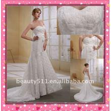 Astergarden dernière une épaule élégante usine vends directement Crown comme cadeau robe de mariée sirène WZS144