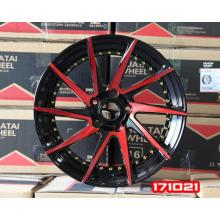 Aro da roda de liga de alumínio de carro de 14 polegadas 17x7.0 18x7.5