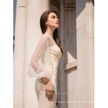 Modern nice wedding dresses vestidos de novia robe de mariage bridal dress gowns Guagnzhou China