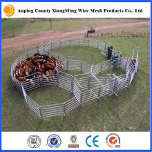 Panneau de bétail galvanisé à chaud résistant de panneau de cour de bétail