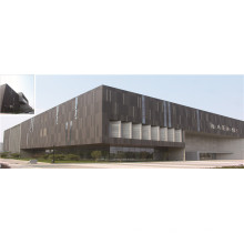 Glass and Aluminum Curtain Wall