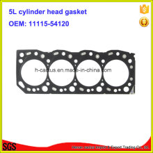 Iron 5L 11115-54120 Joint de culasse Joint de moteur pour Toyota