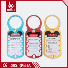 Super Aluminum Alloy Lockout & Tagout Hasp BOSHI BD-K52., With All Colors CE safety lockout