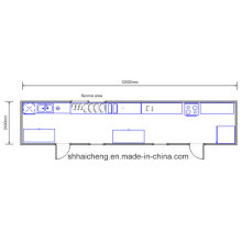 Dining House /Meeting/Bedroom/Single/Container House (shs-fp-kitchen&dining001)