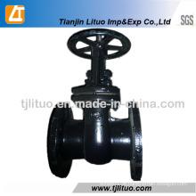 GOST Válvula de porta de água de ferro fundido de 6 polegadas 30CH6br