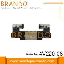 Válvulas de solenoide neumáticas de operación piloto 4V220