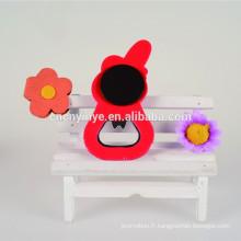 2D aimant en caoutchouc / Soft PVC décapsuleur