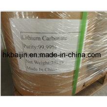 Prix du carbonate de lithium de qualité industrielle / batterie