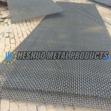 Quarry and Stone Crusher Crimped Vibrating Screen Mesh