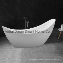 Modern Artificial Solid Surface Freestanding Acrylic Bathtub