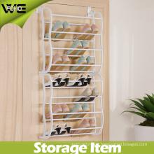 8 Layer Behind Door Plastic Storage Hanging Shoe Organizer