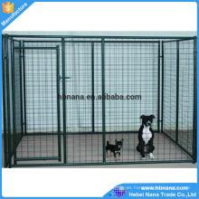 Cajas de perro de la malla de alambre del tamaño estándar de los EEUU y de Canadá / jaula grande del perro para la venta