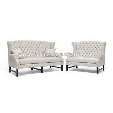 Elegant high back 2+3 seater wedding sofa XY0380