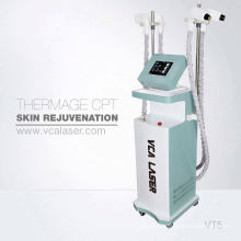 Aribaba vertical fracionária rf pele aperto máquina para remoção de cicatriz, resurfacing da pele, remoção de acne