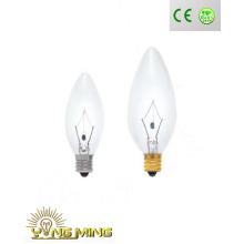 CE RoHS Decoration Incandescent Candle Bulb