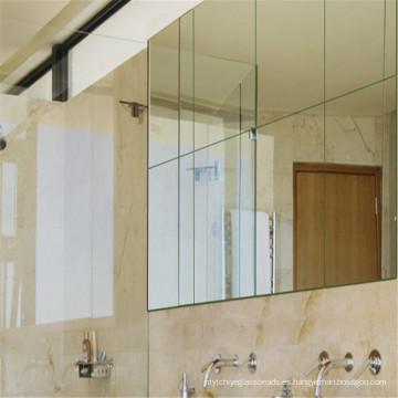 De pared / baño / espejos de vidrio de vestir con espejo Fabricante